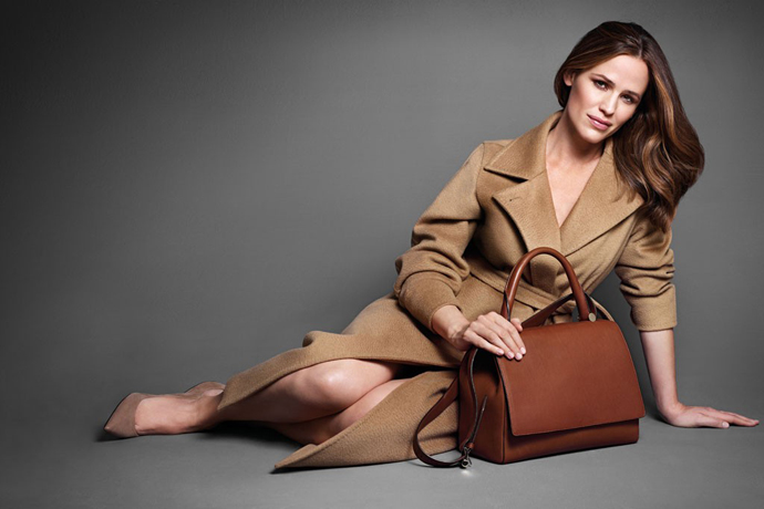 Jennifer Garner by Mario Sorrenti for Max Mara Accessories Fall 2013 AD Campaign