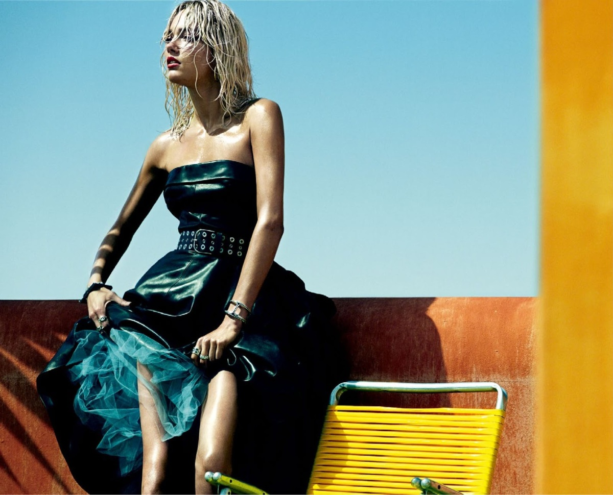 Karmen Pedaru by Greg Kadel for Vogue Spain August 2013