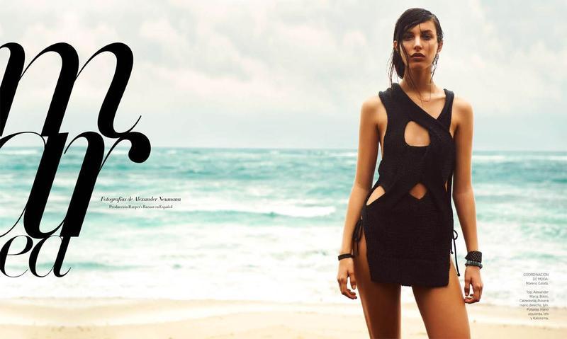 Kate King by Alexander Neumann for Harper's Bazaar Latin America July 2013