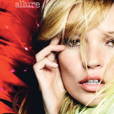 Kate Moss by Mario Testino for Allure August 2013