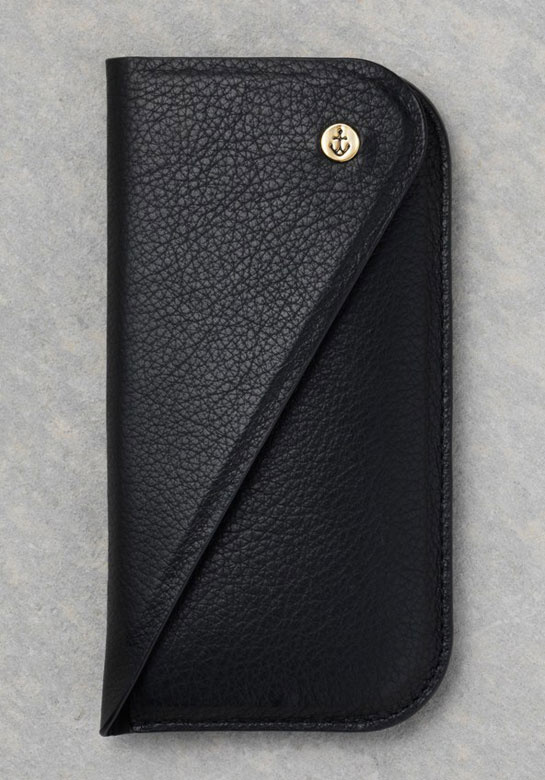Black leather iPhone pouch, Kate Moss x Carphone Warehouse, €30
