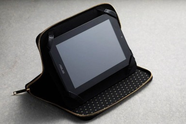 Kate Moss x Carphone Warehouse leather iPad sleeve, €50