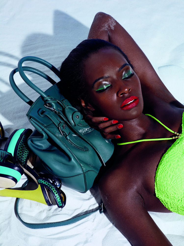Kiara Kabukuru & Samantha Gradoville By Lacey For Muse Summer 2013