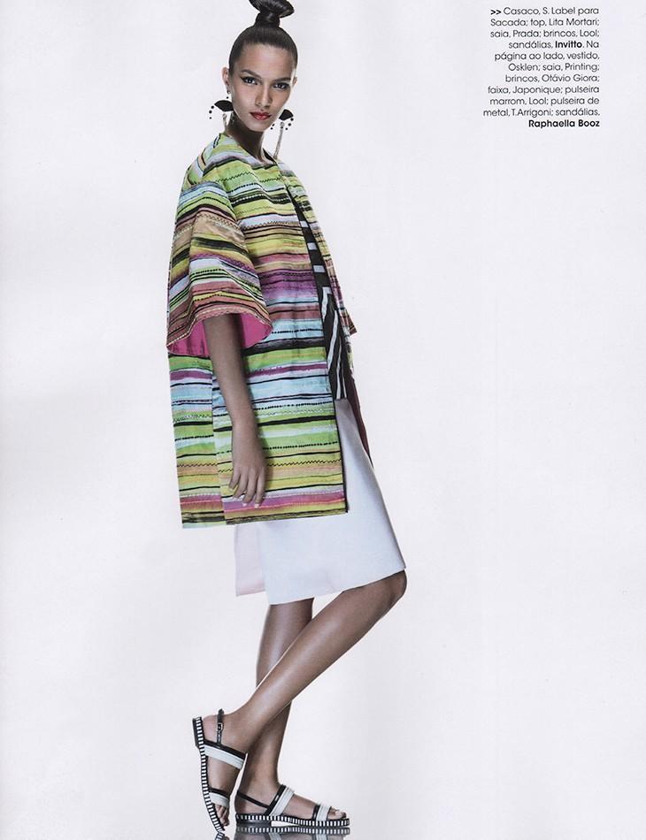 Lais Ribeiro by Karine Basilio for Vogue Brasil July 2013