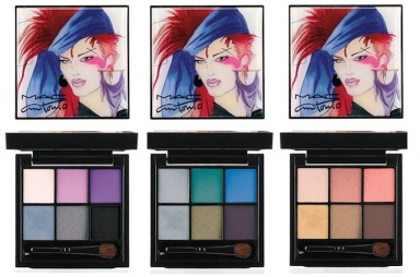 MAC make-up collection in honor of fashion illustrator Antonio Lopez