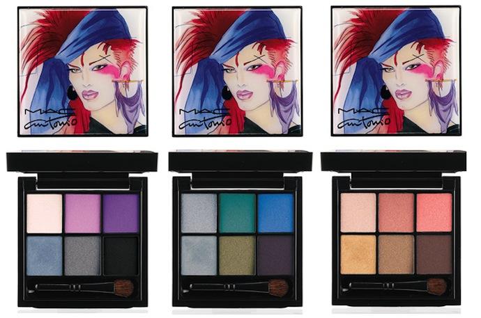 MAC make-up collection in honor of fashion illustrator Antonio Lopez