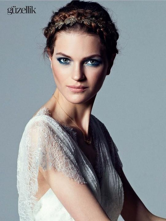 Magdalena Langrova by Ahmet Unver for Vogue Turkey August 2013