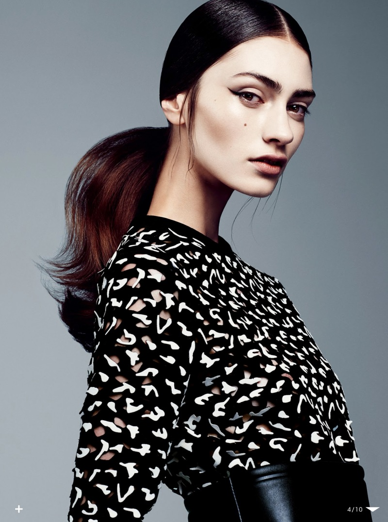 Marine Deleeuw By Steven Pan For Vogue Japan August 2013Marine Deleeuw By Steven Pan For Vogue Japan August 2013