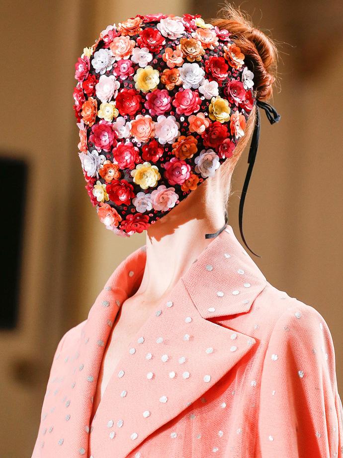 Mask at Maison Martin Margiela Couture Fall 2013