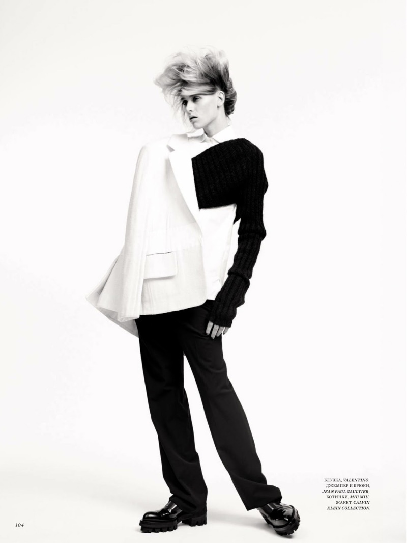 Milou Van Groesen by Natalia Alaverdian for Harper's Bazaar Russia August 2013