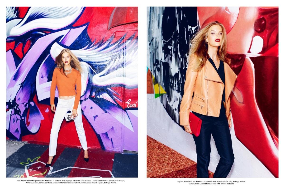 Mirte Maas By Mariano Vivanco For Vogue Brasil July 2013