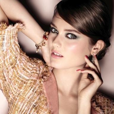 Monika Jagaciak for Chanel Make-Up Collection Fall 2013 - Superstition
