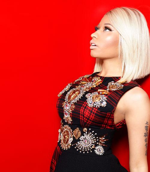 Nicki Minaj by Satoshi Saikusa Marie Claire US August 2013