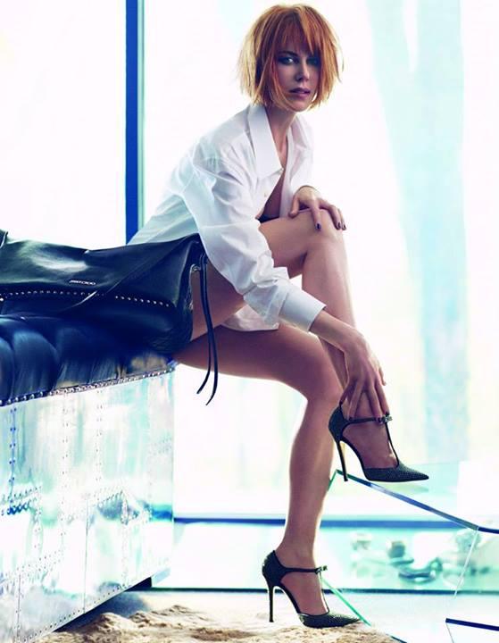 Nicole Kidman for JIMMY CHOO Fall/Winter 2013.2014 Ad Campaign