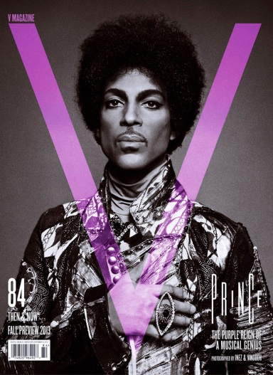 Prince by Inez & Vinoodh for V magazine Fall Preview 2013