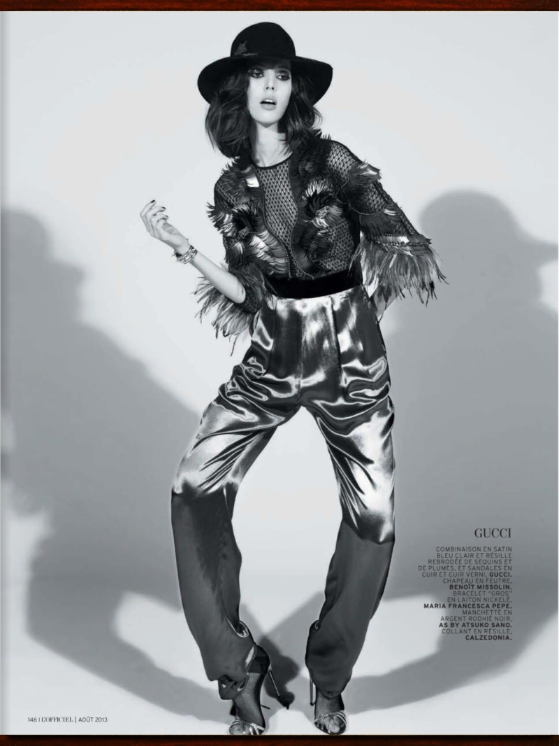 Ruby Aldridge by Marcin Tyszka for L'Officiel August 2013