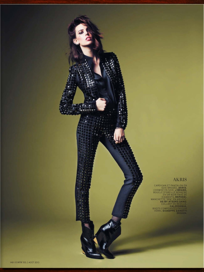Ruby Aldridge by Marcin Tyszka for L'Officiel August 2013Ruby Aldridge by Marcin Tyszka for L'Officiel August 2013