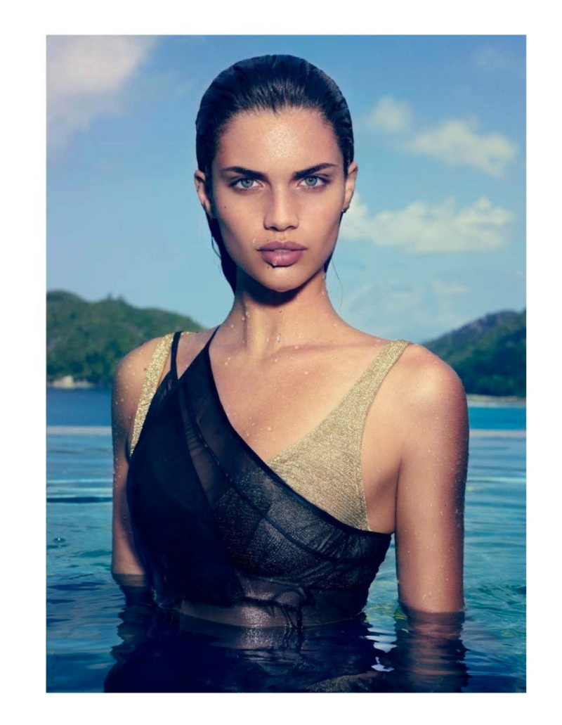 Sara Sampaio By Nelson Simoneau For Be August 2013