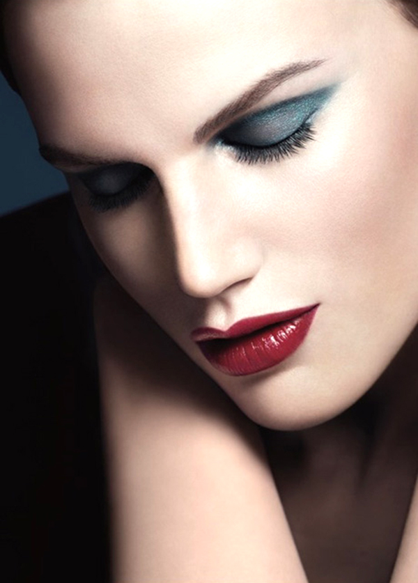 Saskia de Brauw for Giorgio Armani Fall 2013 Makeup Collection
