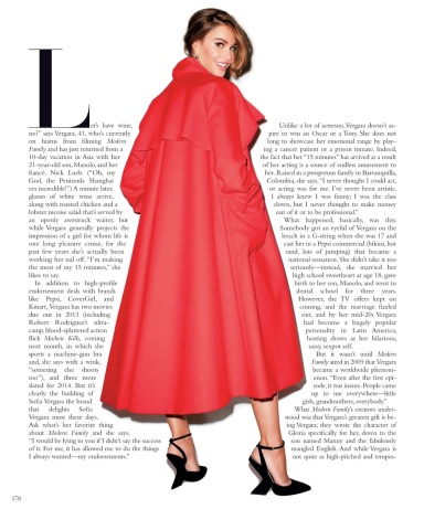 Sofia Vergara by Terry Richardson for Harper's Bazaar US August 2013