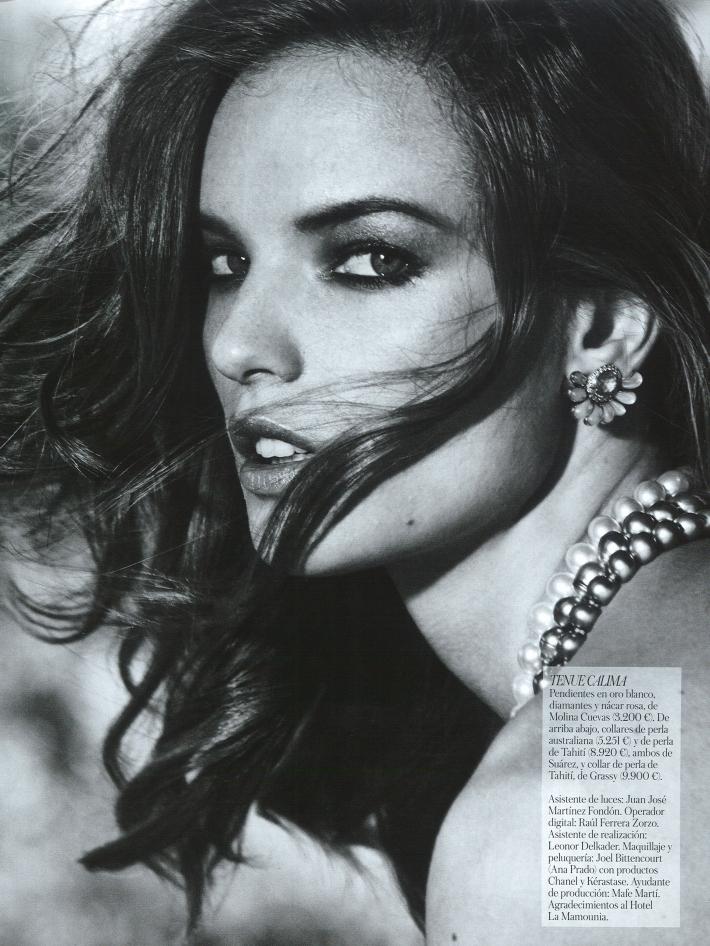 Stefani Schober by Fernando Villalobos for Vogue Spain Jewels July 2013