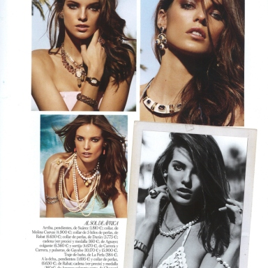 Stefani Schober by Fernando Villalobos for Vogue Spain Jewels July 2013