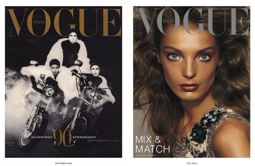 Steven Meisel Greatest Hits - Vol.1 for Vogue Italia