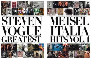 Steven Meisel Greatest Hits - Vol.1 for Vogue Italia