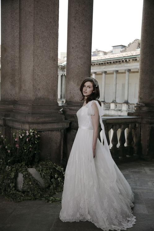 Tali Lennox.  for Alberta Ferretti Forever 2014