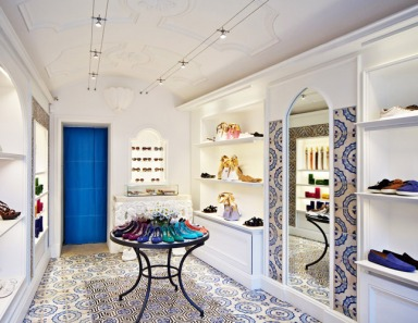 Tod's has released a collection specifically for its boutique in Capri