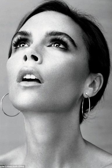 Victoria Beckham by Josh Olins for Vogue China August 2013