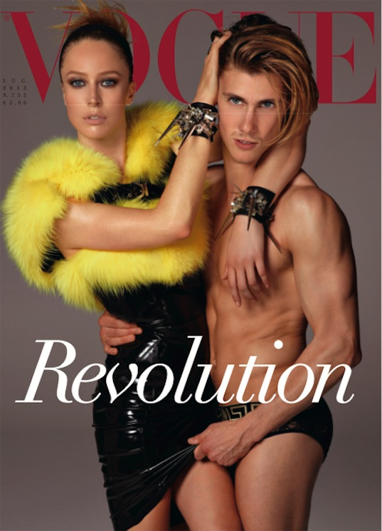 REVOLUTION by Steven Meisel for Vogue Italia July 2013