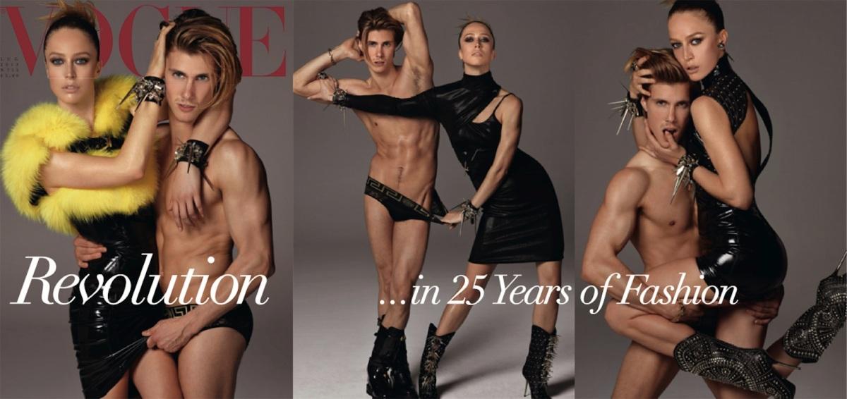 REVOLUTION by Steven Meisel for Vogue Italia July 2013