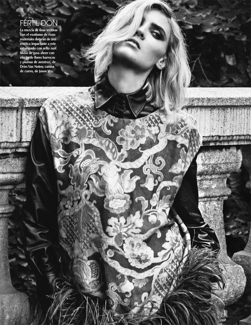 Alison Nix By Kevin Sinclair For Vogue Mexico September 2013
