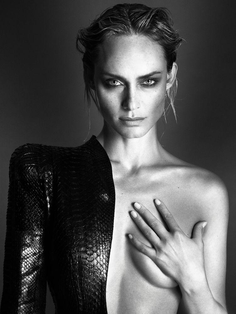 Amber Valetta by Mert Alas and Marcus Piggott for Interview September 2013