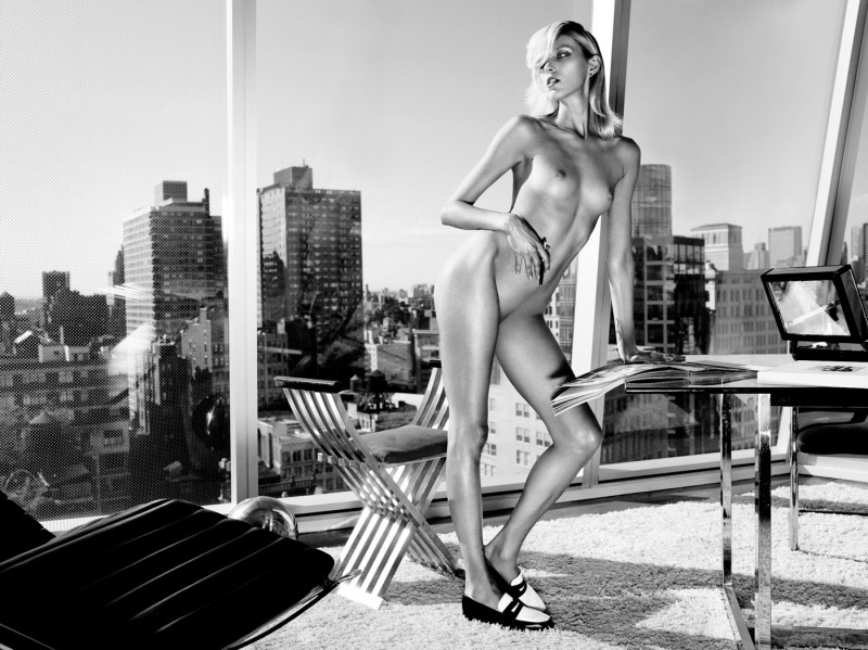 Anja Rubik By Paola Kudacki For Industrie #6