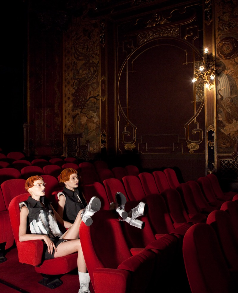 Anna Piirainen And Hannare Blaauboer By Baldovino Barani For Designaré Couture
