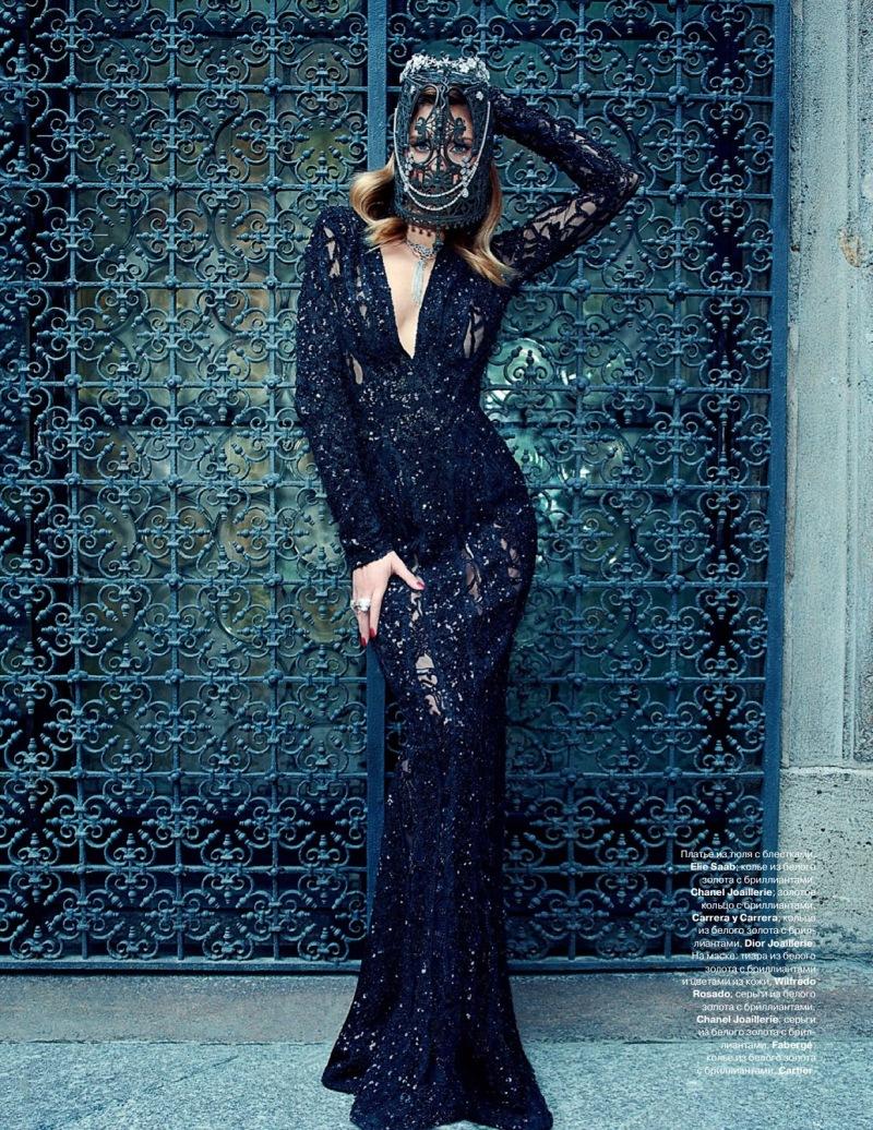 Bianca Balti by Pierpaolo Ferrari for Tatler Russia September 2013