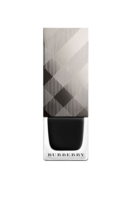 Burberry nail polish in Poppy Black