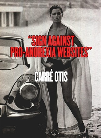 Carré Otis photo by Peter Lindbergh Vogue Italia, January 1990