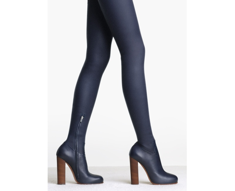 Céline  Rider calfskin thigh boots, price on application.
