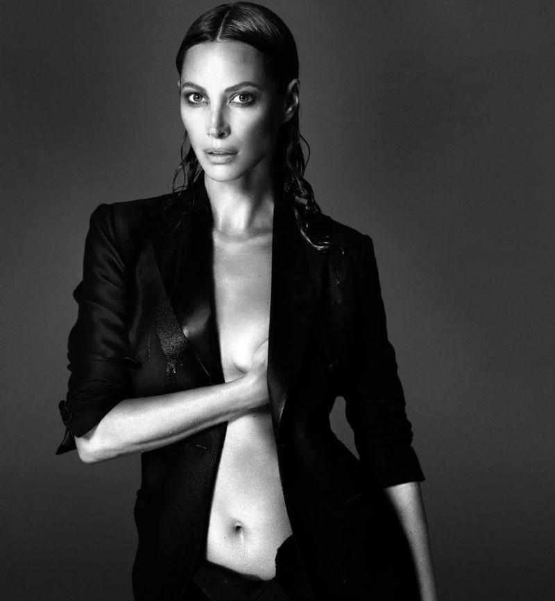 Christy Turlington by Mert Alas and Marcus Piggott for Interview September 2013