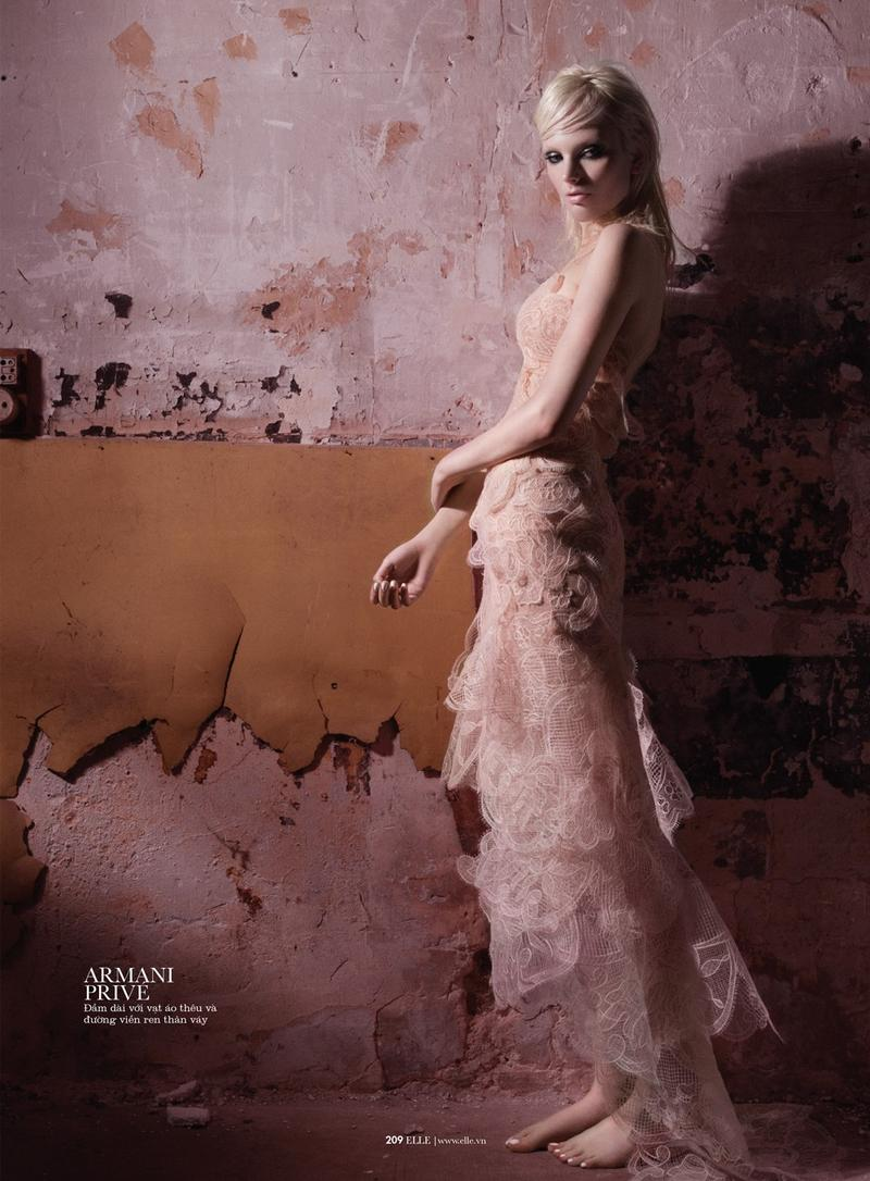 Chrystal Copland by Benjamin Kanarek for ELLE Vietnam September 2013