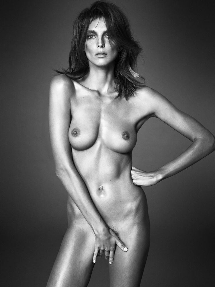 Daria Werbowy by Mert Alas and Marcus Piggott for Interview September 2013