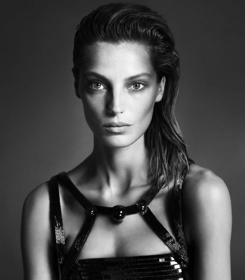Daria Werbowy by Mert Alas and Marcus Piggott for Interview September 2013 1