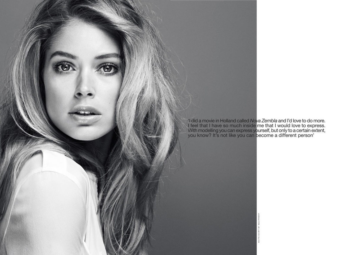 Doutzen Kroes by Erik Torstensson for INDUSTRIE #6 3