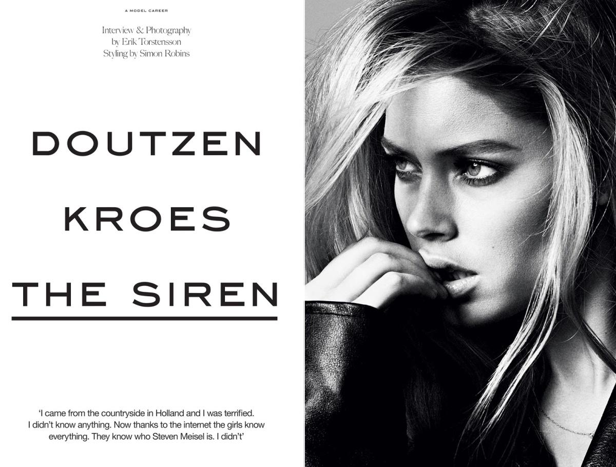 Doutzen Kroes by Erik Torstensson for INDUSTRIE #6 3