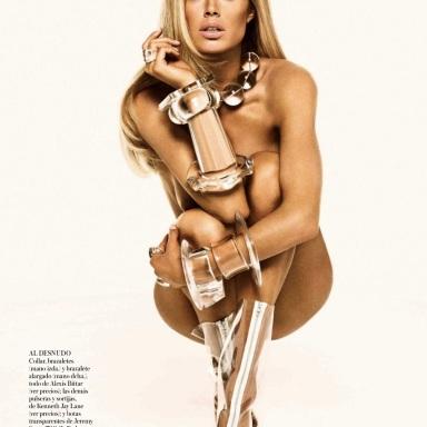 Doutzen Kroes by Tom Munro for Vogue Spain September 2013