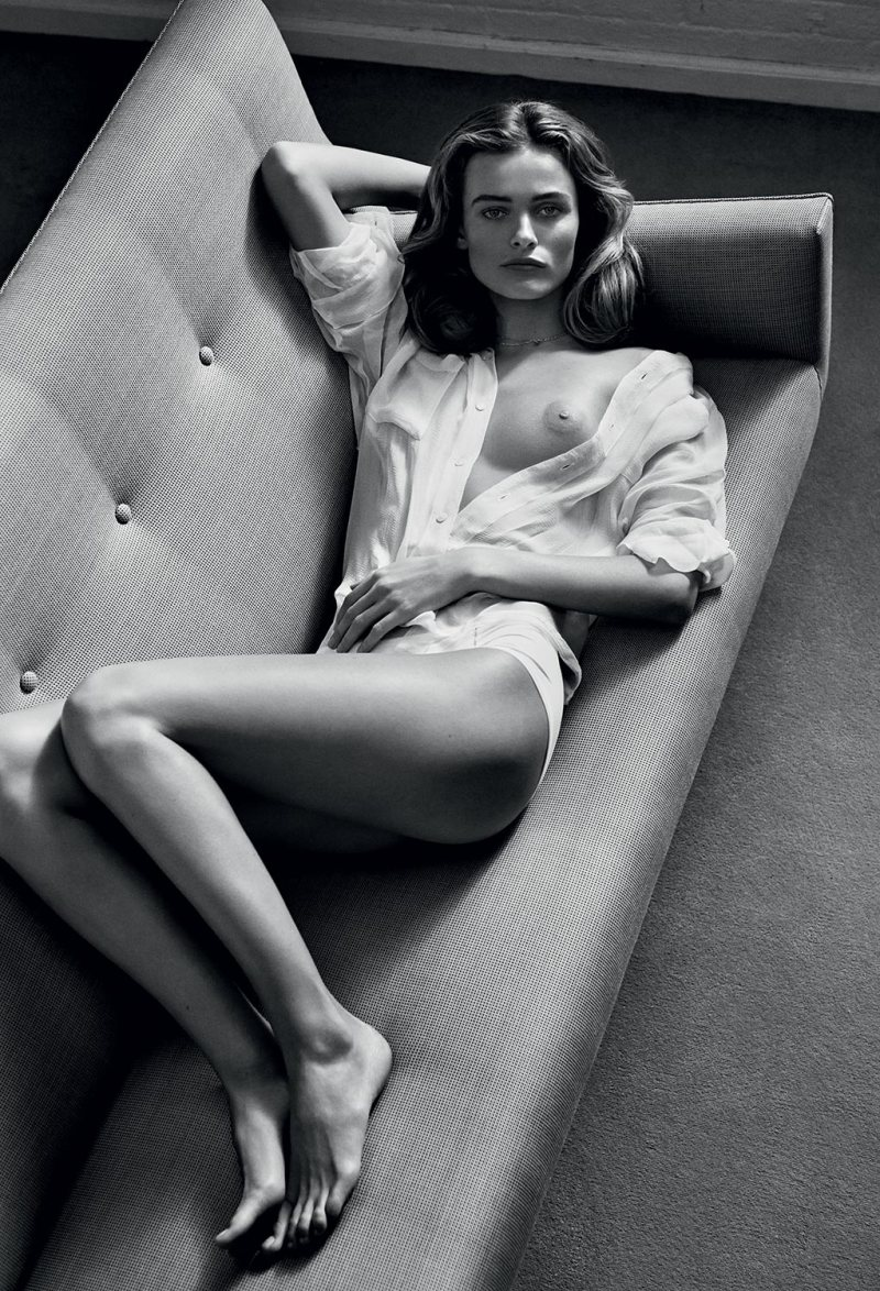 Edita Vilkeviciute by Lachlan Bailey for INDUSTRIE #6