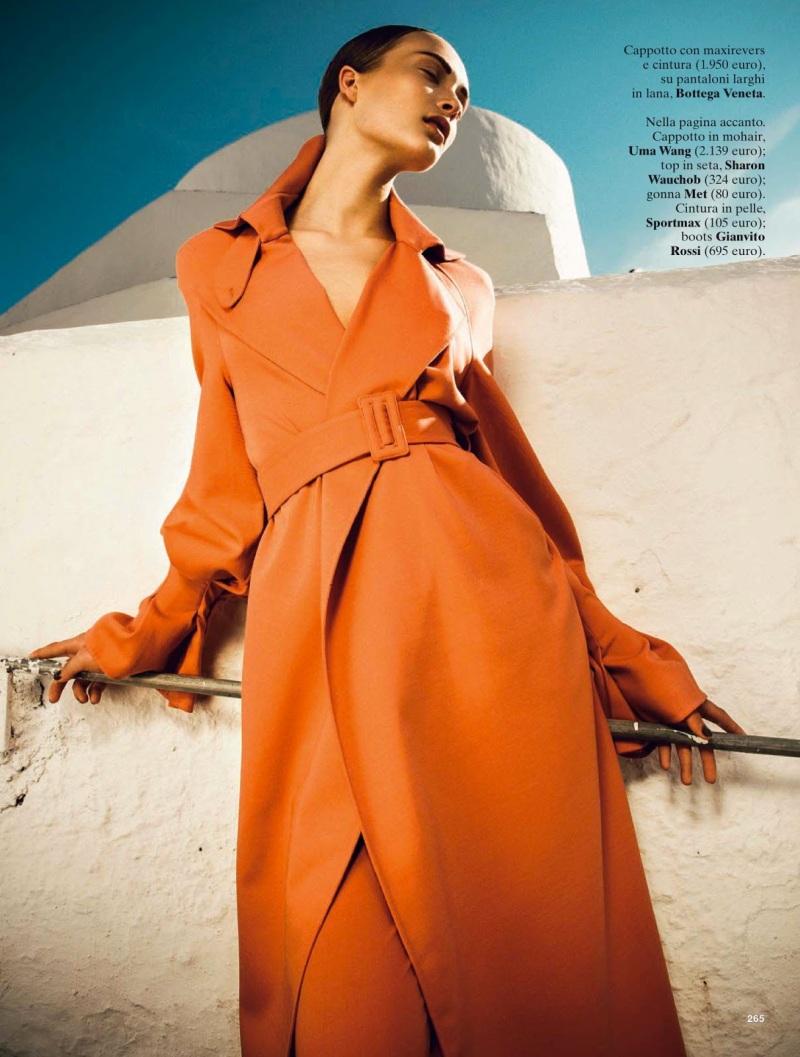 Egle Jezepcikaite By Thanassis Krikis For Glamour Italia September 2013